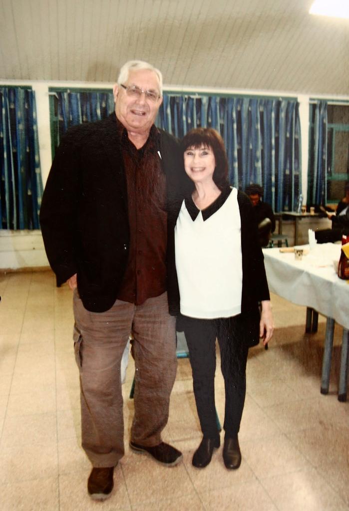 with Moti Kirschenbaum 2016
