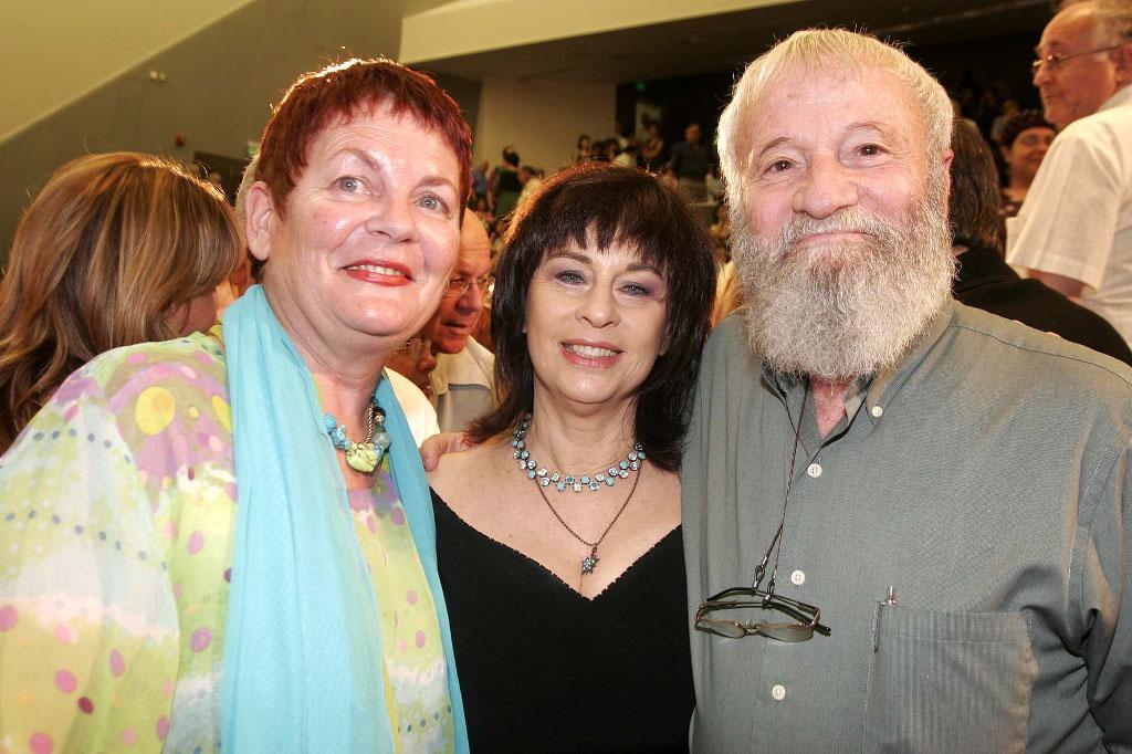 with Yoram Taharlev and Sara'le Sharon
