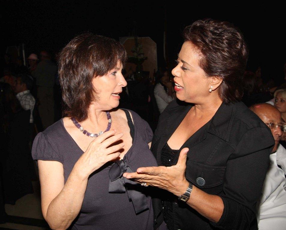 with Margalit Tzan'ani