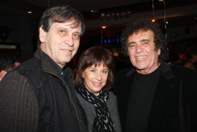 Nurit with Moshik and Ron Eliran