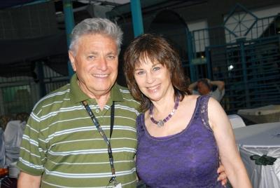 Nurit Hirsh with yonatan Carmon
