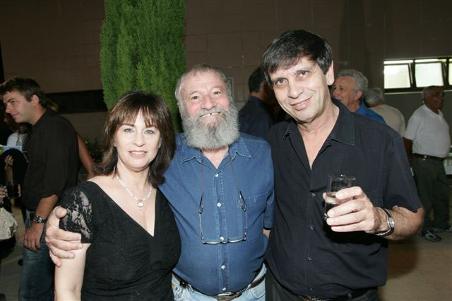 with Yoram Taharlev and Moshik