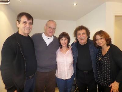 from left to right: Moshik, Yorik,Nurit, Ron Eliran, Gila Hassid
