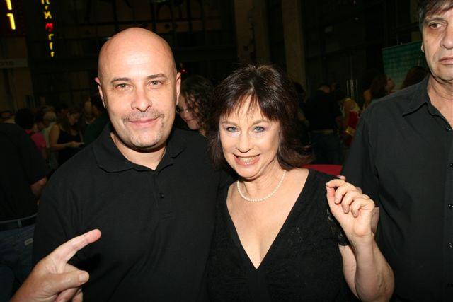 Nurit with Yoav Ginai