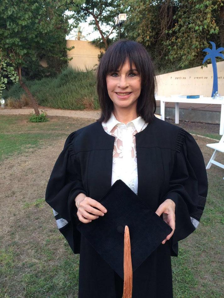 Nurit Hirsh receives a Ph.D. in honor of Bar Ilan University 2016