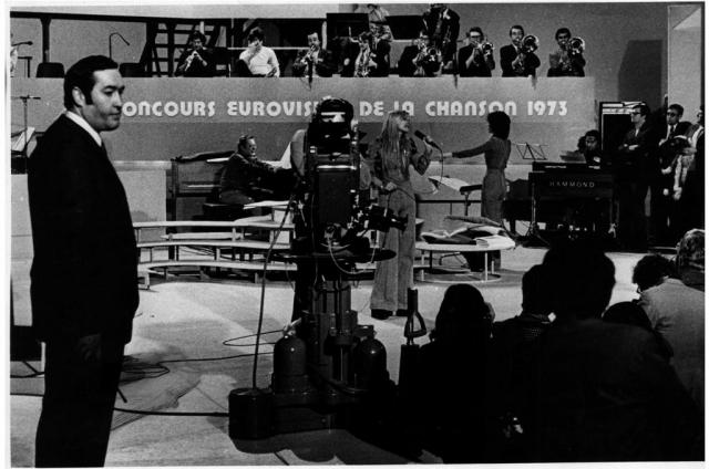 נורית הירש ואילנית לוקסמבורגאירוויזיון 1973 ב